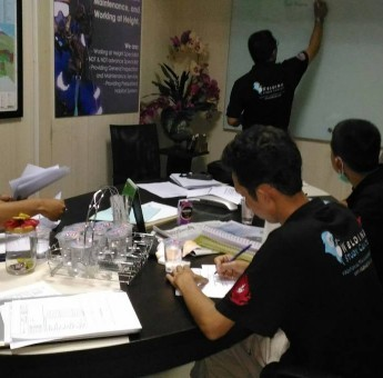 Training Non Destructive Testing (NDT) Level I